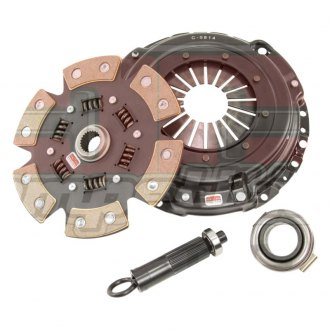 Competition Clutch® - Stage 4 Sprung Strip Series 1620 6-Puck Ceramic Clutch Kit
