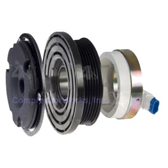 CompressorWorks® - A/C Compressor Clutch Assembly with Coil