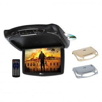 "Concept® - 13.3"" Chameleon Flip Down LED Monitor with Built-in DVD Player and 3 Housing Options"