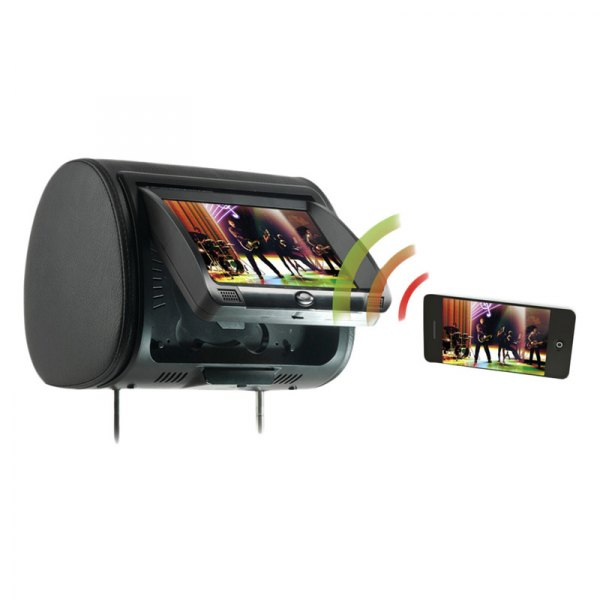 Concept Chameleon CLD-7Headrest DVD Installation in 2007