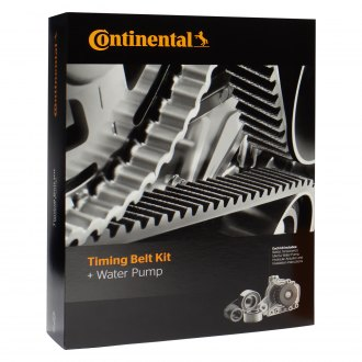 Continental® ContiTech™ - Black Series™ Timing Belt Kit with Water Pump