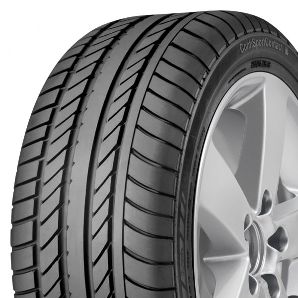 CONTINENTAL® - CONTISPORTCONTACT 2 Tire Protector Close-Up