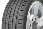 CONTINENTAL® - CONTISPORTCONTACT 2 SSR Tire Protector Close-Up