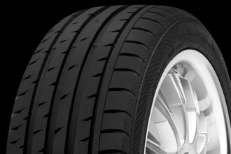 CONTINENTAL® - CONTISPORTCONTACT 3 SSR Tire Protector Close-Up