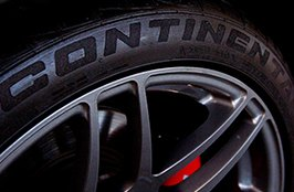CONTINENTAL® - Tires on Polished Rims
