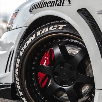 CONTINENTAL® - Extreme Contact tire on White Car