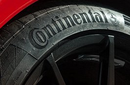 CONTINENTAL® - Tires on Red Camaro - Hennessey Label