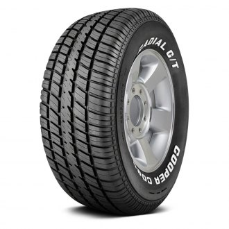 COOPER® - COBRA RADIAL G/T WITH WHITE LETTERING