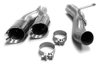 Corsa® 14030 - Stainless Steel Twin Pro-Series Exhaust Tip (Single Side Exit)