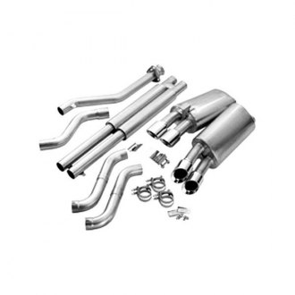 Corsa® - Sport Polished Stainless Steel Cat-Back Dual Exhaust System - Dual Rear Exit