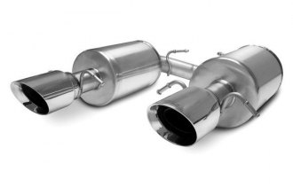 Corsa® - Touring Stainless Steel Axle-Back Exhaust System - Dual Rear Exit