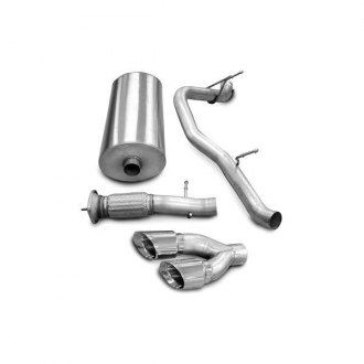 Corsa® - Sport Polished Stainless Steel Cat-Back Exhaust System - Single Side Exit