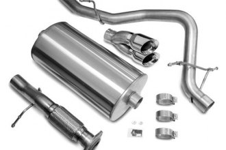 Corsa® 14207 - Stainless Steel Cat-Back Exhaust System (Single Rear Exit)