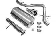 Corsa® - Touring Stainless Steel Cat-Back Exhaust System - Single Rear Exit