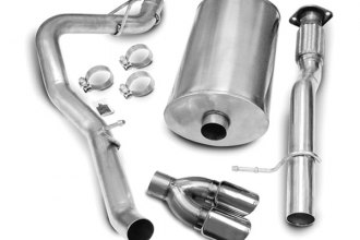 Corsa® - Polished Stainless Steel Cat-Back Exhaust System