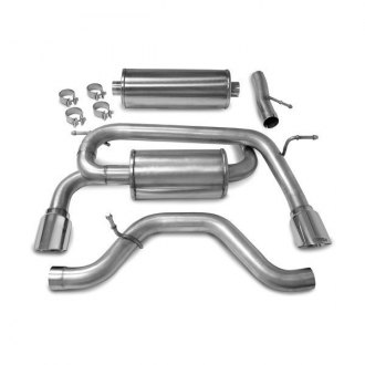 Hummer H Cat Back Exhaust