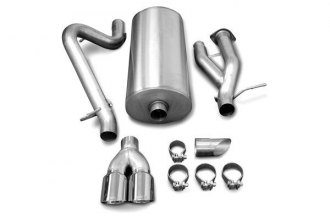 Corsa® - Sport Stainless Steel Cat-Back Exhaust System - Single Rear Exit