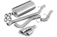 Corsa® - Sport Stainless Steel Cat-Back Exhaust System - Single Side Exit