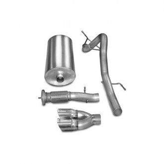 Corsa® - Sport Polished Stainless Steel Cat-Back Exhaust System - Single Rear Exit