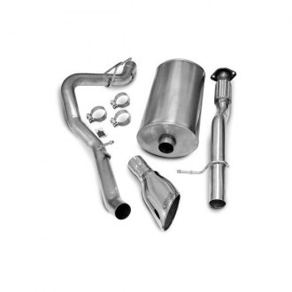 Corsa® - Sport™ 304 SS Cat-Back Exhaust System with Single Side Exit