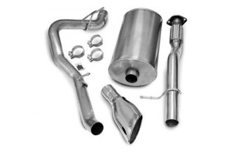 Corsa® 14246 - 304 Stainless Steel Cat-Back Exhaust System (Single Side Exit)