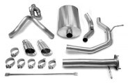 CORSA� - Sport Polished Stainless Steel Cat-Back Exhaust System - Dual Rear Exit