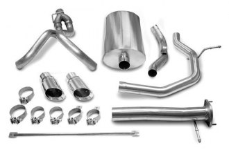 Corsa® 14254 - 304 Stainless Steel Cat-Back Exhaust System (Dual Rear Exit)