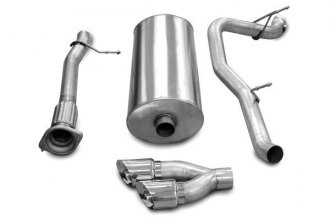 Corsa® - Sport Stainless Steel Cat-Back Exhaust System - Single Exit