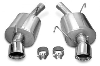 Corsa® - Sport Stainless Steel Axle-Back Exhaust System - Dual Rear Exit