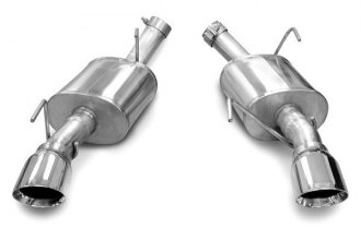 Corsa® - Xtreme Stainless Steel Axle-Back Exhaust System - Dual Rear Exit