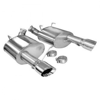 Corsa® - 304 Stainless Steel Axle-Back Exhaust System