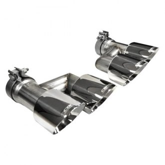 Corsa® - Pro-Series Polished Round Dual Rear Tips