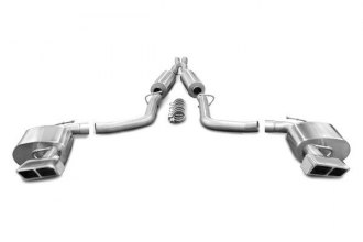 Corsa® 14423 - Stainless Steel Cat-Back Exhaust System (Dual Rear Exit)