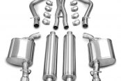 Corsa® - Xtreme Polished Stainless Steel Cat-Back Exhaust System - Dual Rear Exit
