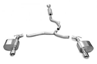 Corsa® - Sport Stainless Steel Cat-Back Exhaust System - Rear Exit