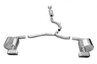 Corsa® 14443 - Stainless Steel Cat-Back Exhaust System (Dual Rear Exit)