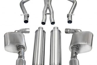 Corsa® 14463 - 304 Stainless Steel Cat-Back Exhaust System (Dual Rear Exit)