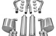 Corsa® - Xtreme Stainless Steel Cat-Back Exhaust System - Dual Rear Exit