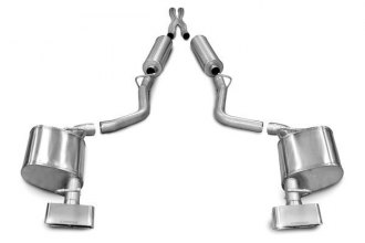 Corsa® - Xtreme Stainless Steel Cat-Back Exhaust System - Dual Exit