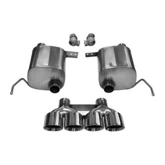Corsa® - 304 Stainless Steel Valve-Back Exhaust System