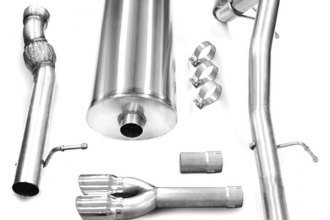 Corsa® - Touring Stainless Steel Cat-Back Exhaust System - Single Exit