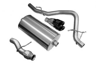 Corsa® - 304 Stainless Steel Cat-Back Exhaust System (Single Rear Exit)