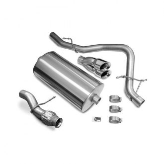Corsa® - Touring™ 304 SS Cat-Back Exhaust System with Single Rear Exit