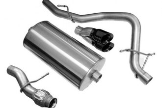 Corsa® - Cat-Back Exhaust System (Single Rear Exit)