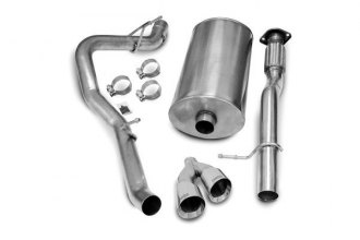 Corsa® - 304 Stainless Steel Cat-Back Exhaust System (Single Side Exit)
