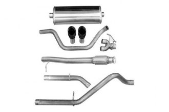 Corsa® - 304 Stainless Steel Cat-Back Exhaust System (Dual Rear Exit)
