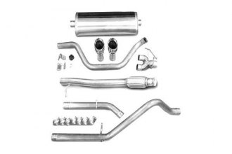 Corsa® - Touring Stainless Steel Cat-Back Exhaust System