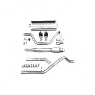 Corsa® - Sport Polished Stainless Steel Cat-Back Exhaust System - Dual Rear Exit