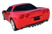 Corsa® - Xtreme Polished Stainless Steel Axle-Back Dual Exhaust System -  Dual Rear Exit, Installed