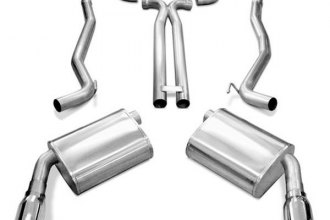 Corsa® 14463 - Sport Stainless Steel Cat-Back Exhaust System - Dual Rear Exit